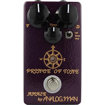 ANALOG MAN Prince of Tone Pedals and FX Analog Man