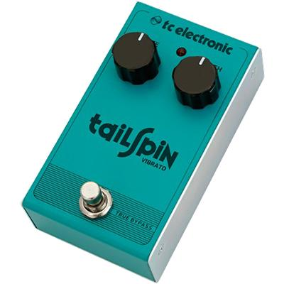 TC ELECTRONIC Tailspin Vibrato Pedals and FX TC Electronic