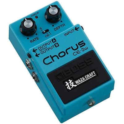 BOSS CE-2W Chorus Waza Craft Pedals and FX Boss