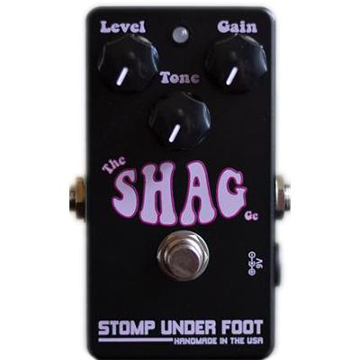STOMP UNDER FOOT The Shag Pedals and FX Stomp Under Foot