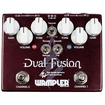 WAMPLER Dual Fusion Pedals and FX Wampler