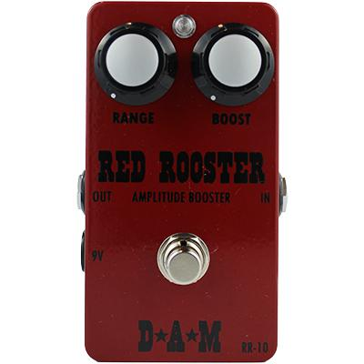 D*A*M Red Rooster RR-10 Pedals and FX D*A*M