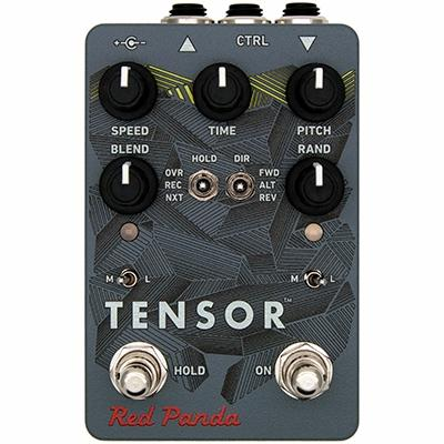 RED PANDA Tensor Pedals and FX Red Panda