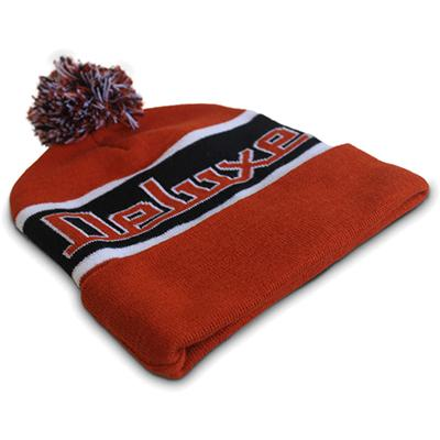 DELUXE Footy Beanie - Orange Accessories Deluxe Guitars