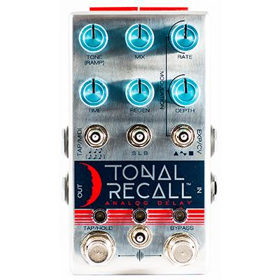 CHASE BLISS AUDIO Tonal Recall Pedals and FX Chase Bliss Audio