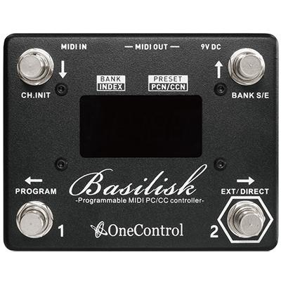 ONE CONTROL Basilisk Midi Controller Pedals and FX One Control