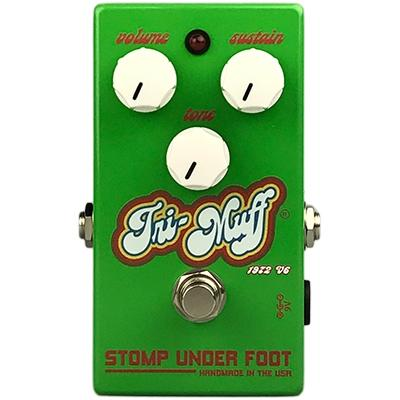 STOMP UNDER FOOT Tri-Muff 72 V6 Pedals and FX Stomp Under Foot
