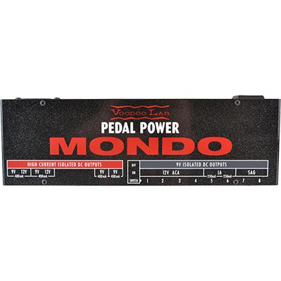 VOODOO LAB Pedal Power Mondo Pedals and FX Voodoo Lab