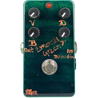 BJF ELECTRONICS Emerald Green Distortion Machine