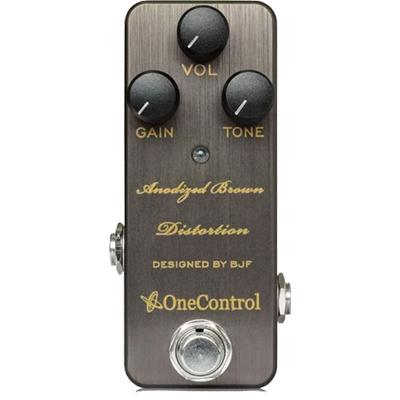 ONE CONTROL Anodized Brown Distortion Pedals and FX One Control