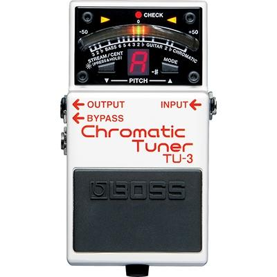 BOSS TU3 Chromatic Tuner Pedals and FX Boss