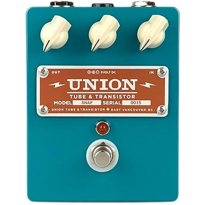 UNION TUBE & TRANSISTOR Snap Pedals and FX Union Tube & Transistor