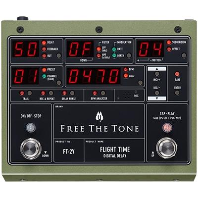 FREE THE TONE Flight Time FT-2Y Pedals and FX Free The Tone