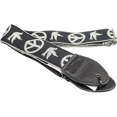 "SOULDIER STRAPS Vintage 2"" - Young Peace Dove Black"