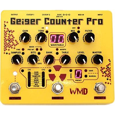 WMD Geiger Counter Pro Pedals and FX WMD