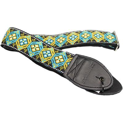 "SOULDIER STRAPS Vintage 2"" - Honeycomb Blue/Turquoise Accessories Souldier Straps"