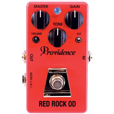PROVIDENCE ROD-1 Red Rock OD Pedals and FX Providence