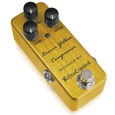 ONE CONTROL Lemon Yellow Compressor Pedals and FX One Control
