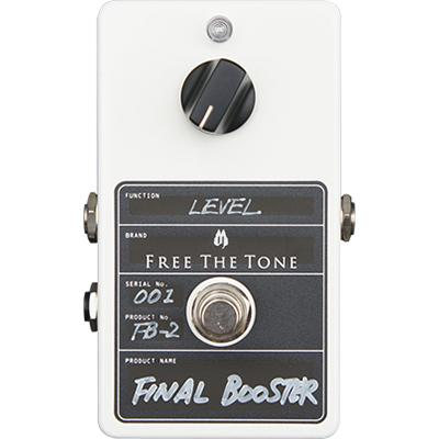 FREE THE TONE Final Booster FB-2 Pedals and FX Free The Tone