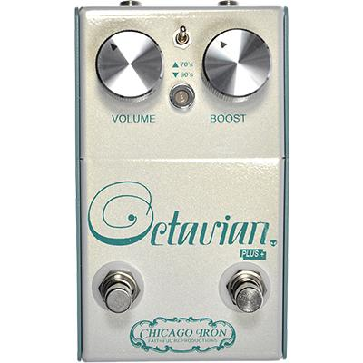 CHICAGO IRON Octavian Plus Pedals and FX Chicago Iron