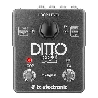 TC ELECTRONIC Ditto X2 Pedals and FX TC Electronic