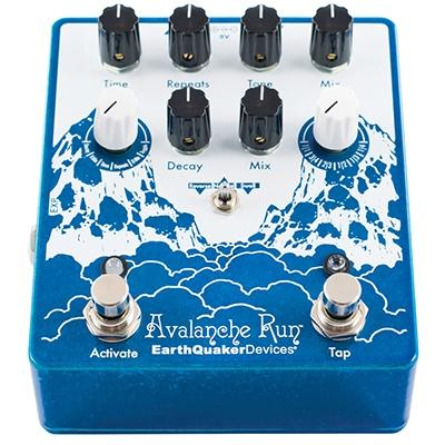 EARTHQUAKER DEVICES Avalanche Run V2 Pedals and FX Earthquaker Devices