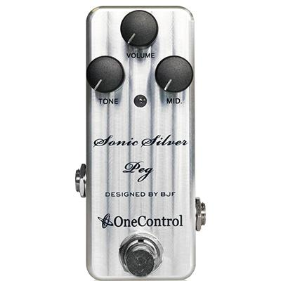 ONE CONTROL Sonic Silver Peg Pedals and FX One Control