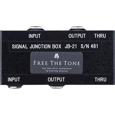 FREE THE TONE JB-21 Signal Junction Box Pedals and FX Free The Tone