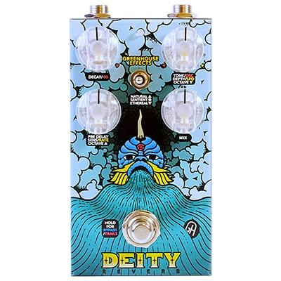 GREENHOUSE Deity Reverb Pedals and FX Greenhouse Effects