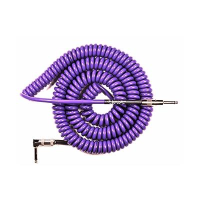 DIVINE NOISE Curly Cable - 30ft ST-RA - PURPLE