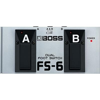BOSS FS-6 Dual Foot Switch Pedals and FX Boss