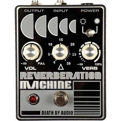 DEATH BY AUDIO Reverberation Machine Pedals and FX Death By Audio