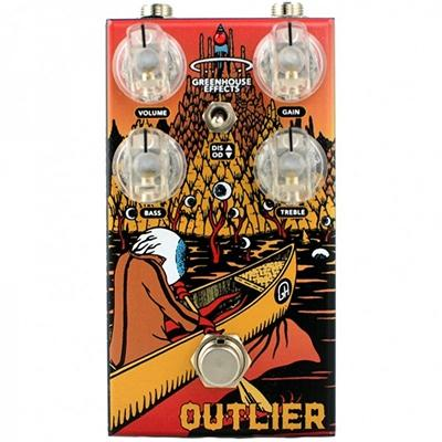 GREENHOUSE Outlier Pedals and FX Greenhouse Effects