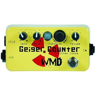 WMD Geiger Counter - Civilian Issue Pedals and FX WMD