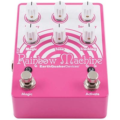 EARTHQUAKER DEVICES Rainbow Machine V2 Pedals and FX Earthquaker Devices