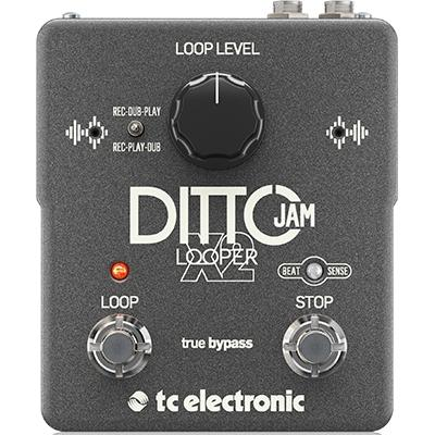 TC ELECTRONIC Ditto Jam X2 Pedals and FX TC Electronic