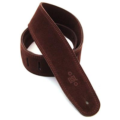 DSL Suede Triple Ply Brown Strap Accessories DSL Straps