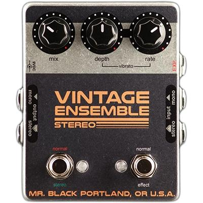 MR BLACK Stereo Vintage Ensemble Pedals and FX Mr Black