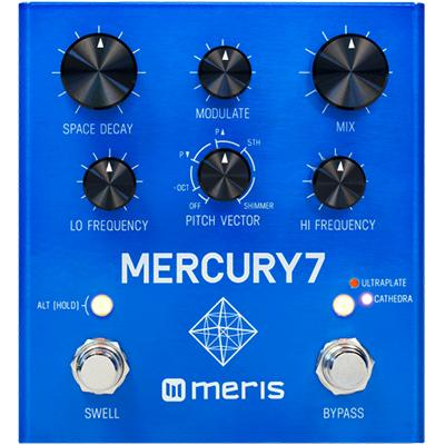 MERIS Mercury7 Reverb Pedal Pedals and FX Meris