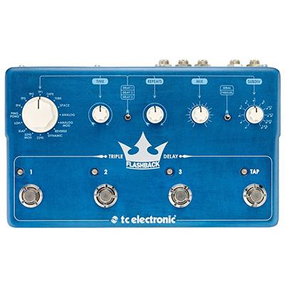 TC ELECTRONIC Flashback Triple Delay Pedals and FX TC Electronic