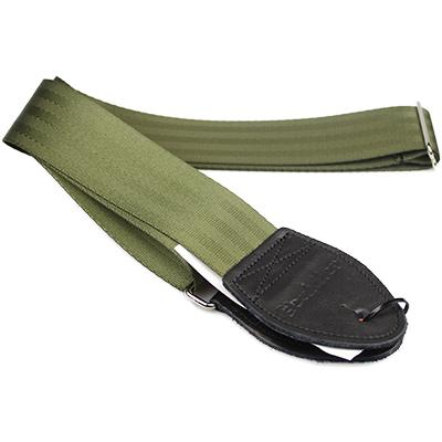 SOULDIER STRAPS Plain Seatbelt - Olive Accessories Souldier Straps