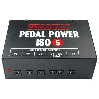 VOODOO LAB Pedal Power ISO 5 Pedals and FX Voodoo Lab