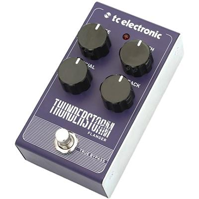 TC ELECTRONIC Thunderstorm Flanger Pedals and FX TC Electronic