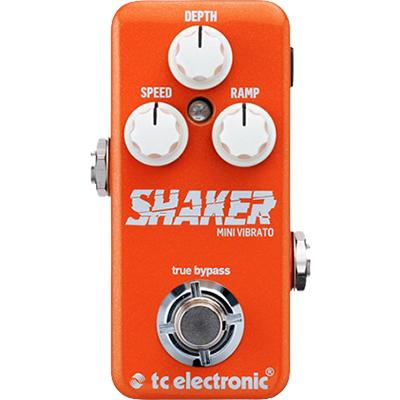 TC ELECTRONIC Shaker Mini Vibrato Pedals and FX TC Electronic
