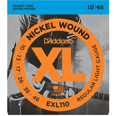 DADDARIO EXL110 Strings 010-046 Light