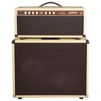 MILKMAN SOUND 85W Pedal Steel Head w/ 2x12 Jupiter Ceramic Cabinet - Vanilla Amplifiers Milkman Sound