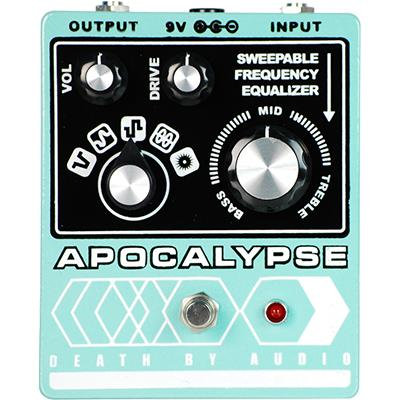 DEATH BY AUDIO Apocalypse Pedals and FX Death By Audio