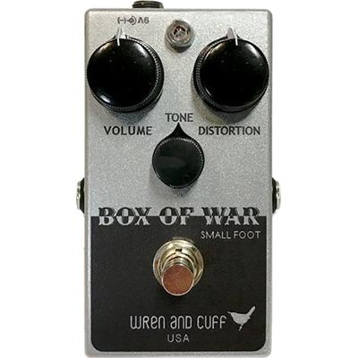 WREN and CUFF Box Of War - Small Foot Pedals and FX Wren And Cuff