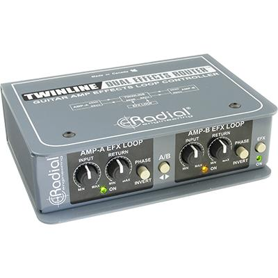 RADIAL Twinline FX Loop Switcher