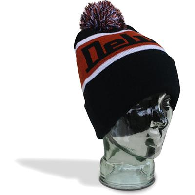 DELUXE Footy Beanie - Black (Small / Kids)